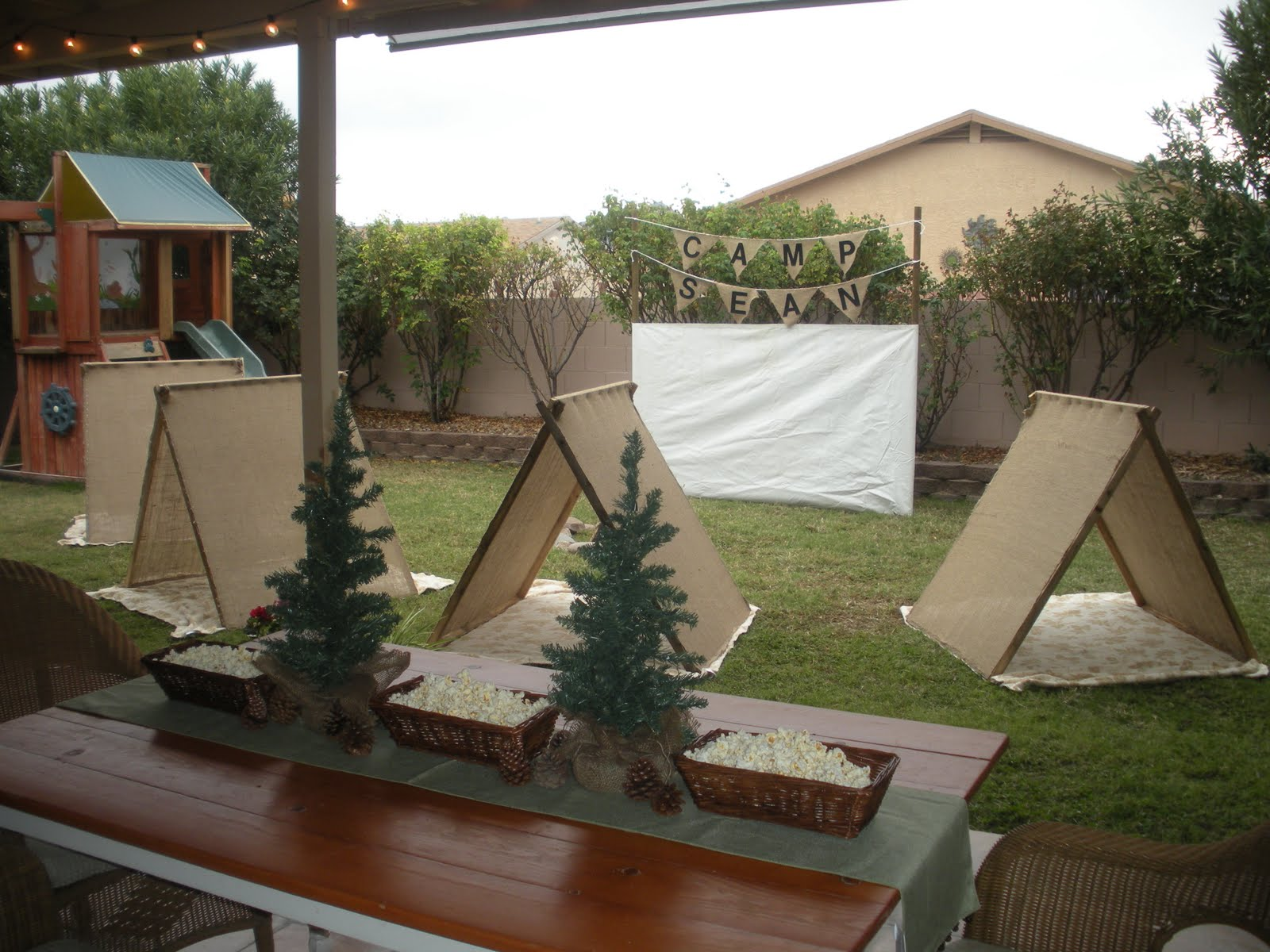 Triyae.com = Backyard Camping Party Ideas ~ Various design ...