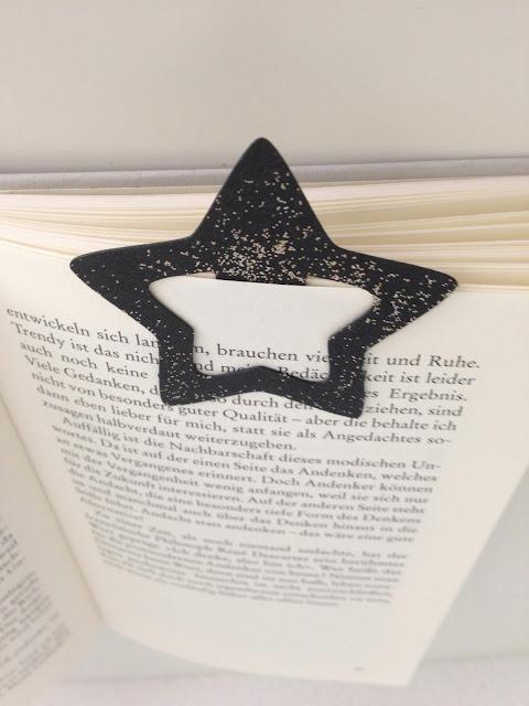 mit Strich und Faden: Lesezeichen Stern aus SnapPap
