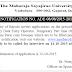 MSU Baroda Recruitment 2015 | www.msubaroda.ac.in