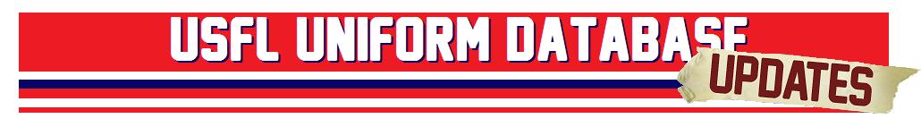 USFL Uniform Database Update Blog