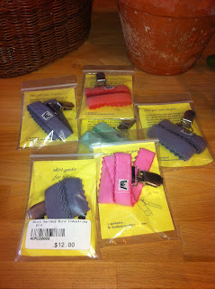 Skirt garters at Reser Bicycle Outfitters OTR