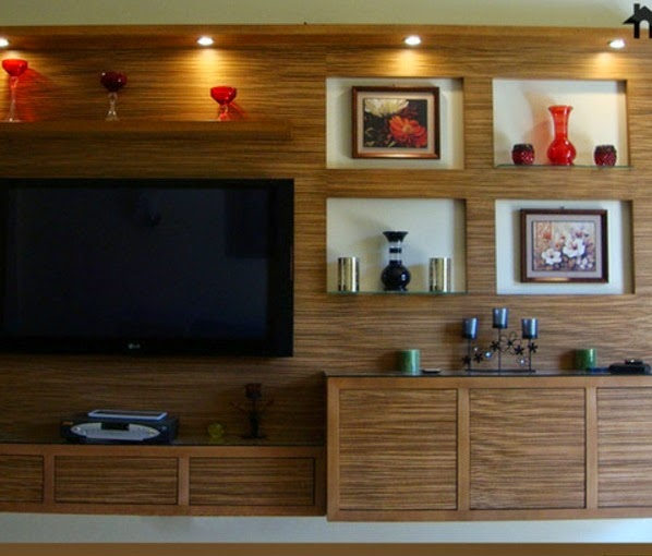 Wooden Wall Units how to use modern tv wall units in living room wall decor