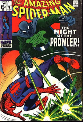 Amazing Spider-Man #78, the Prowler