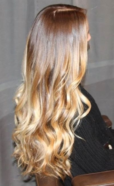 brown to blonde ombre caramel brown to golden blonde ombreOmbre Hair Brown To Blonde Back
