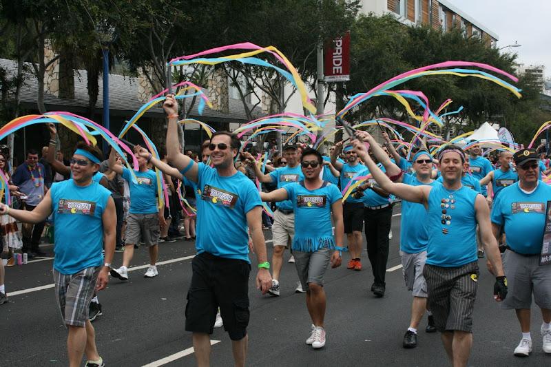 Gay Mens Chorus WEHO Pride Parade 2011