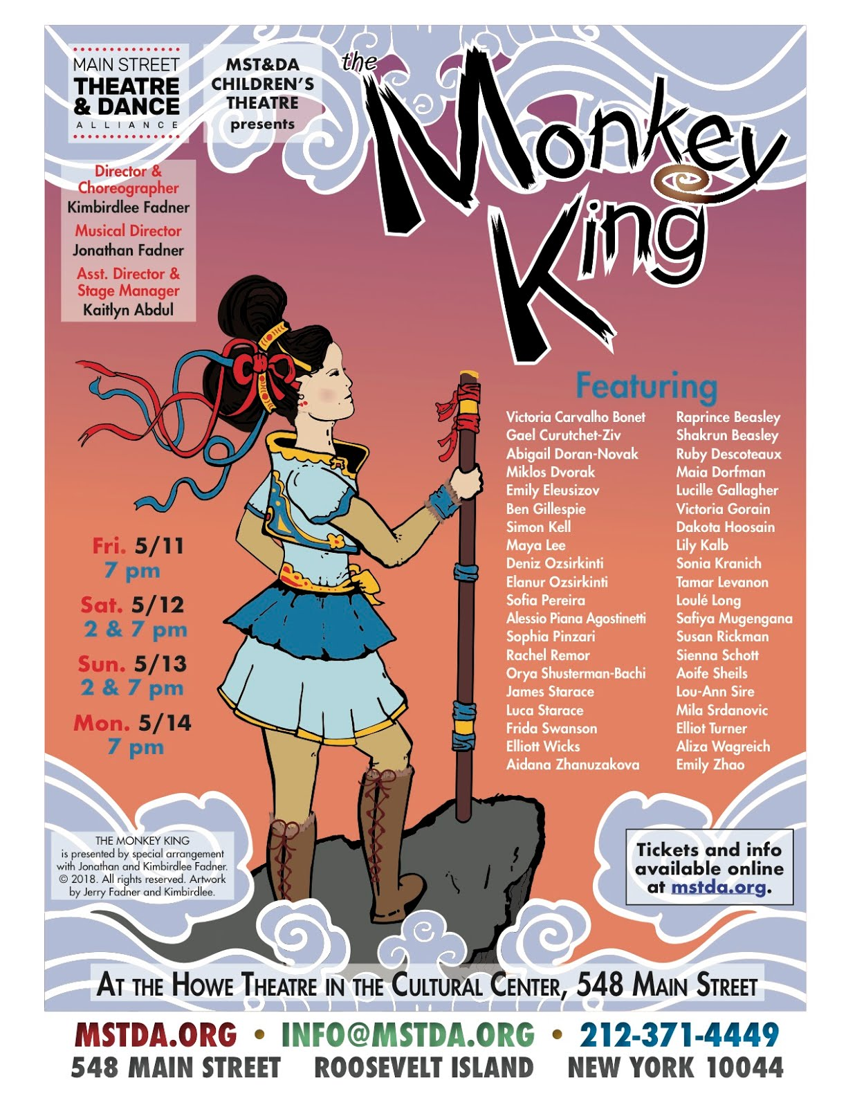 MST&DA Children's Theatre Presents The Monkey King: A Kung-Fusical