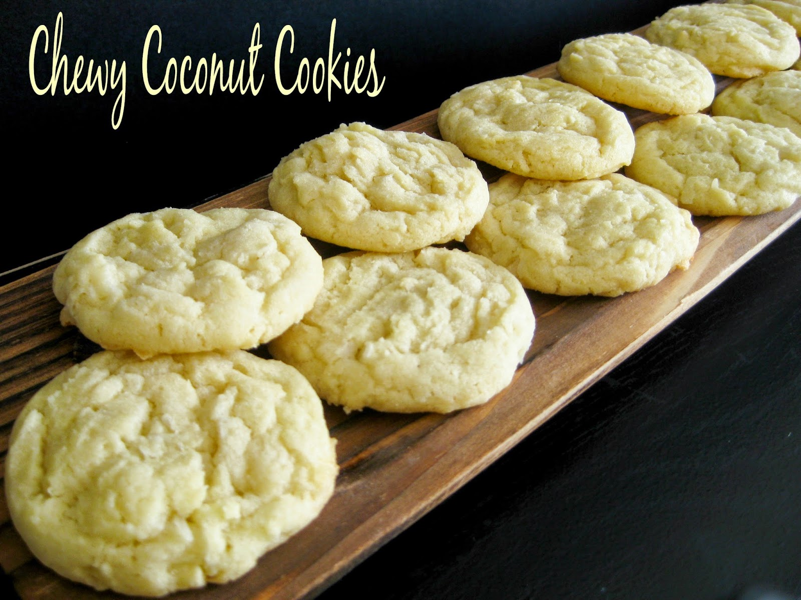 Chewy Coconut Cookies Recipe