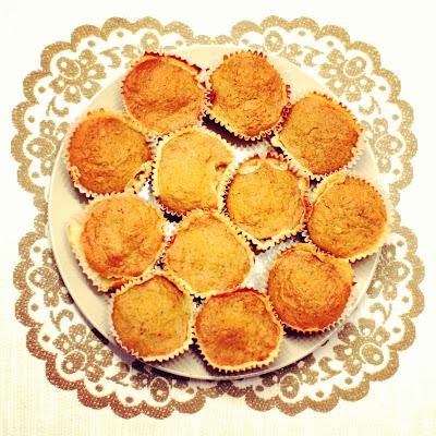 Muffiny marchewkowe z serkiem mascarpone
