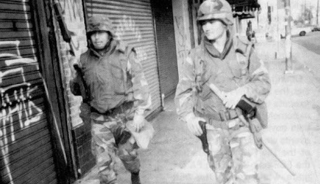 Kerusuhan Los Angeles 29 April 1992 (+ video)