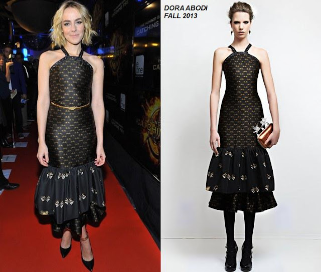 Jena Malone In Dora Abodi At 'the Hunger Games: Catching Fire' Toronto
