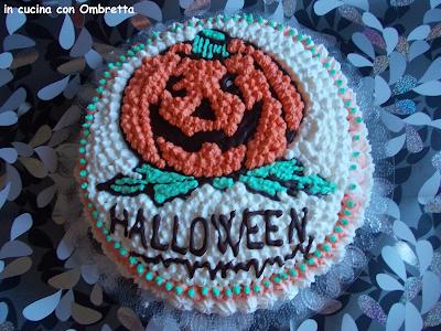 torta con zucca halloween 2013