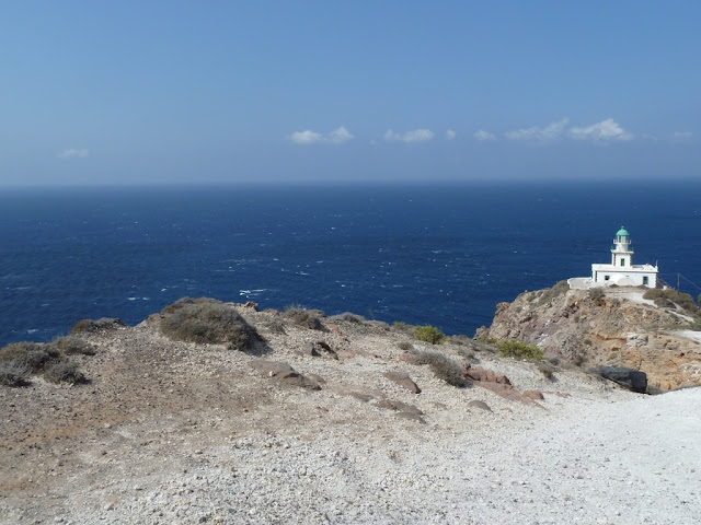 Santorin - le phare d'Akrotiri