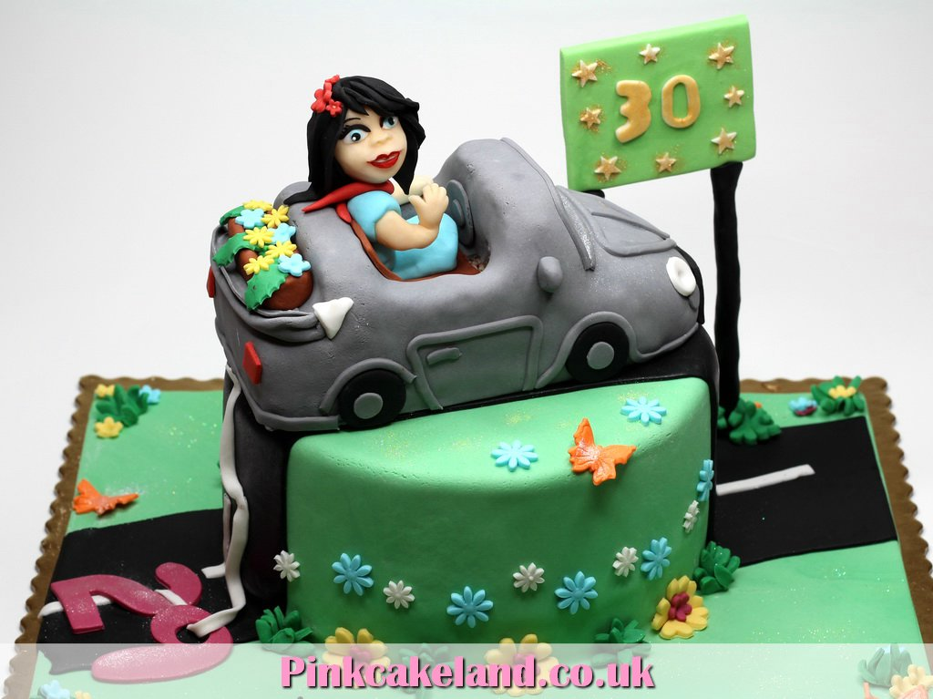 London Patisserie 30th Birthday Cake for Woman