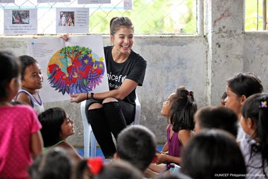 Anne Curtis as the new UNICEF Celebrity Advocate