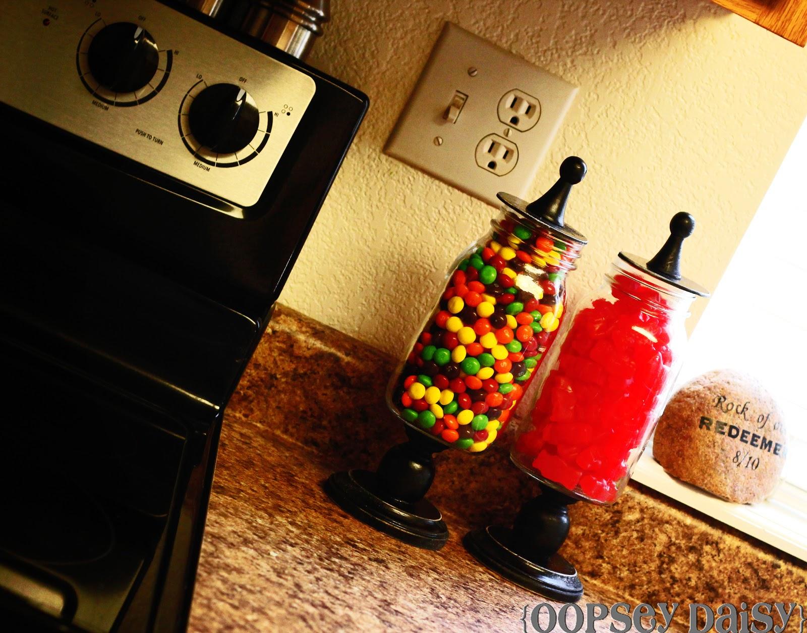 Mason Jar Christmas Crafts Candy Jars