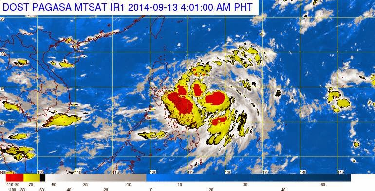 Bagyong Luis Threatens Luzon Area (September 13)