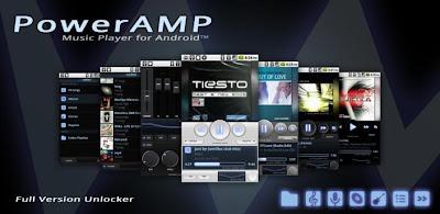 Aplicación Android PowerAmp