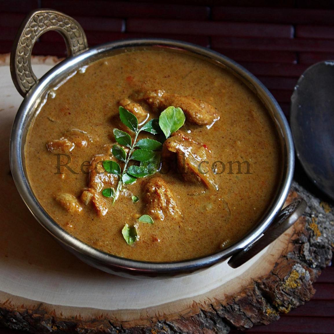 Kannur Chicken Curry / Malabar Chicken Curry ~ Sankeerthanam