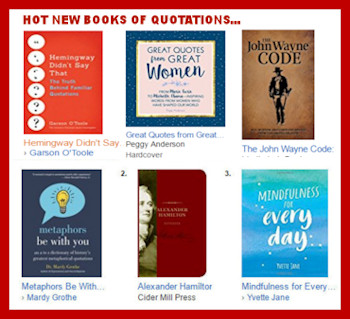 new books of quotations