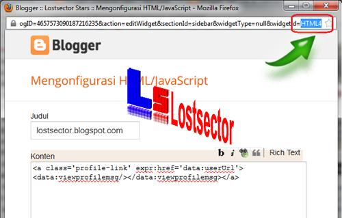 Cara Menampilkan Widget Pada Halaman Tertentu Blogspot