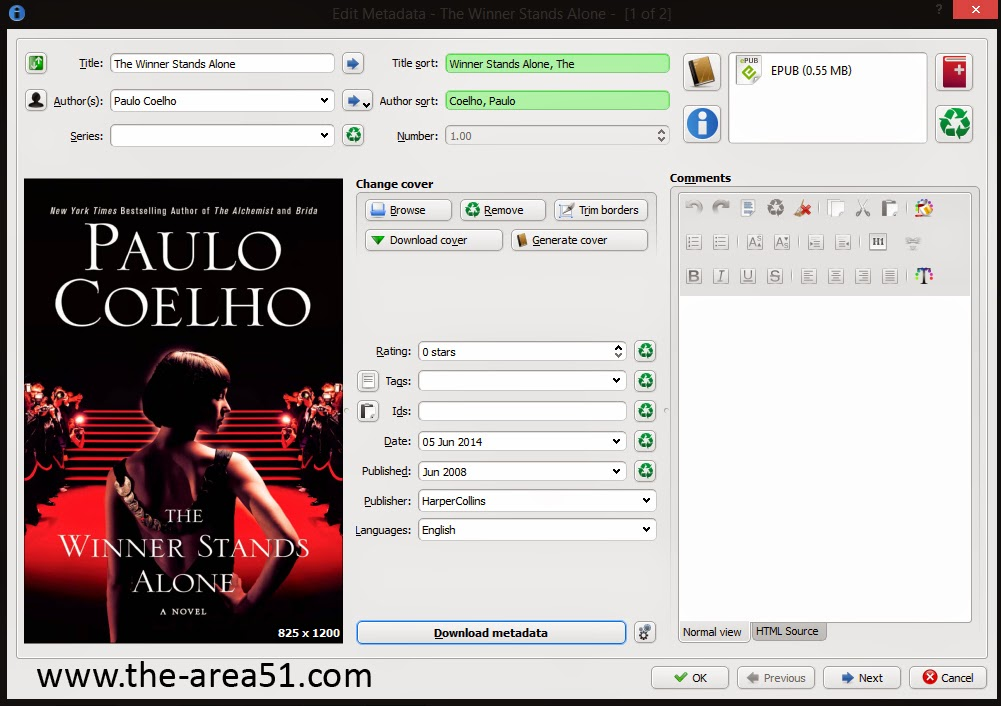 calibre pdf to epub