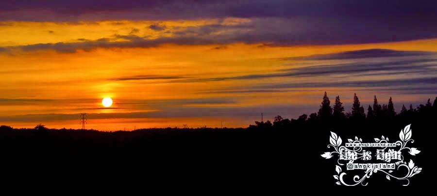 Sunset terbenam