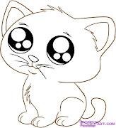 . cat sleeping how to draw an anime cartoon kitty step