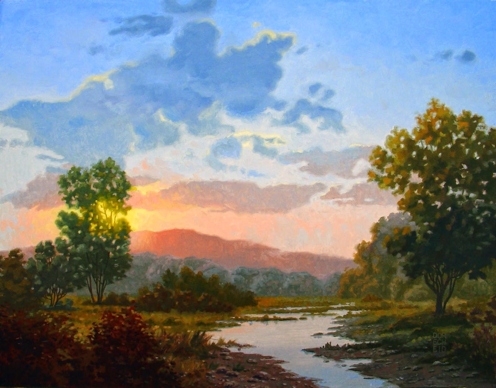 4 New Oil Paintings