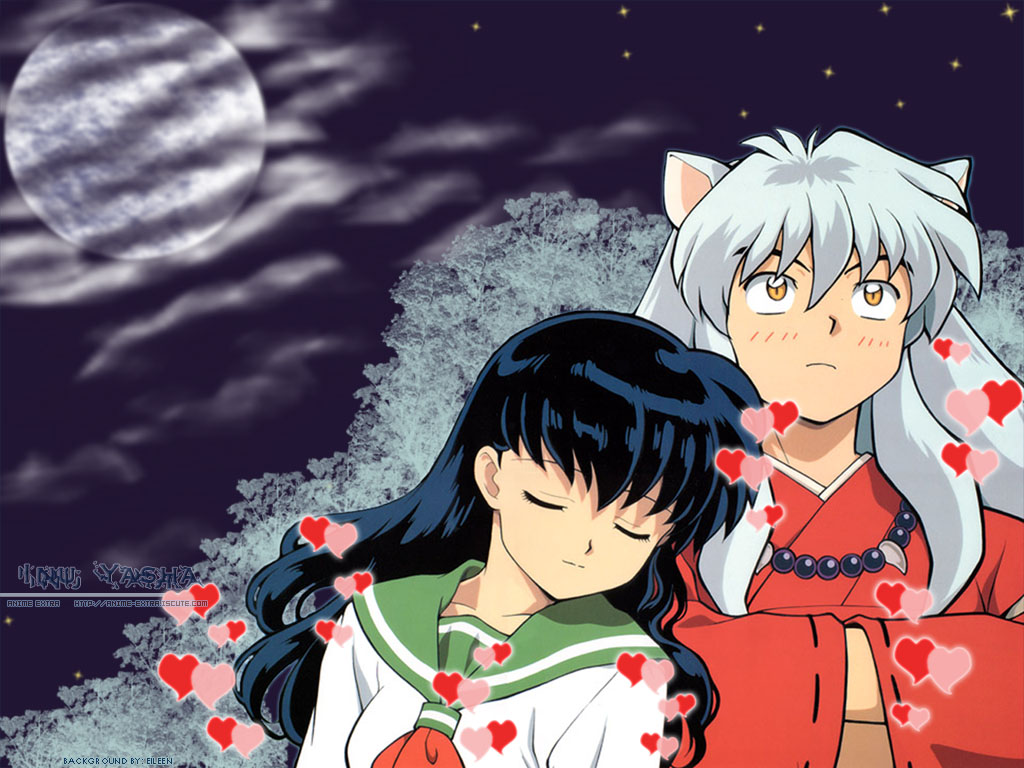 Anime Inuyasha and Kagome Love