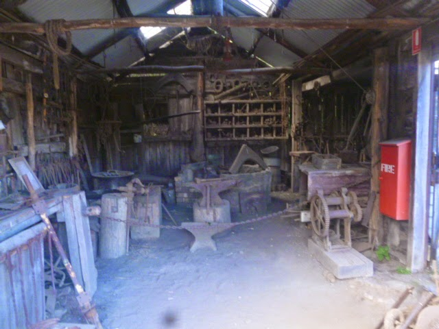 Blacksmith inside