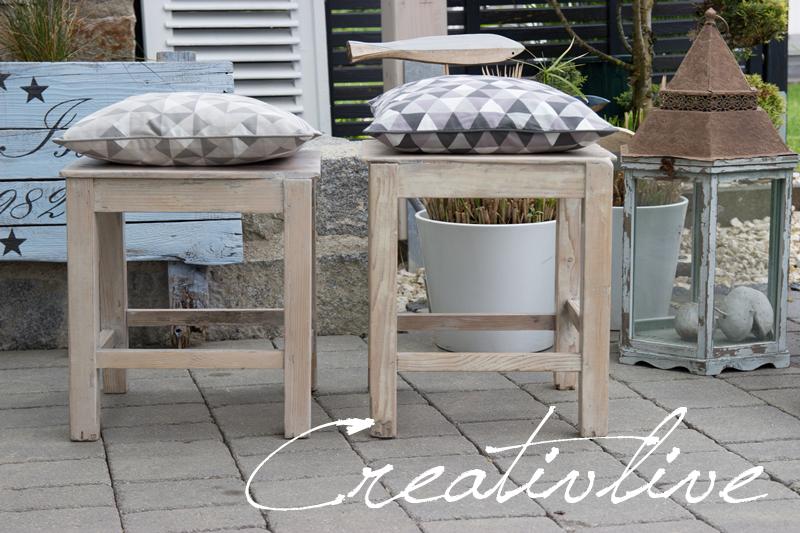 Massivholz Esstisch Lasieren : Möbel Lasieren  Kreidefarbe für´s Wohnzimmer creativLIVE