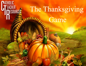 Thanksgiving Games For Kid