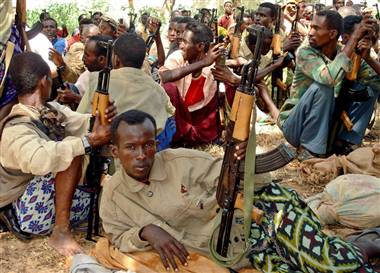 Somalia Pirates and rebels
