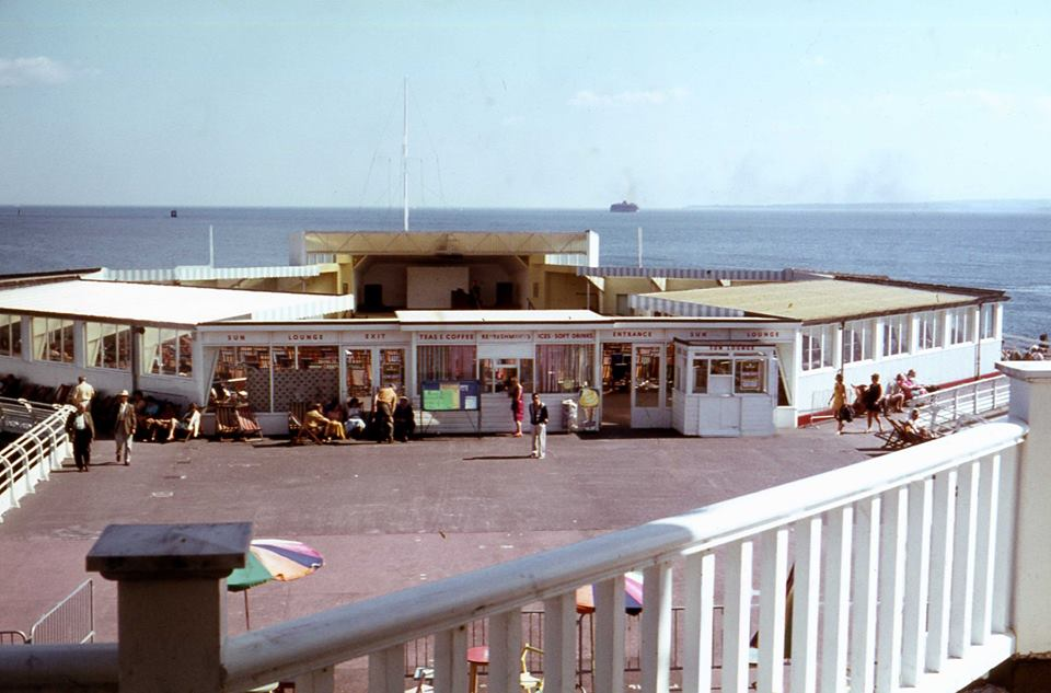 End of South Parade Pier 1960s