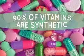 synthetic vs natural vitamins
