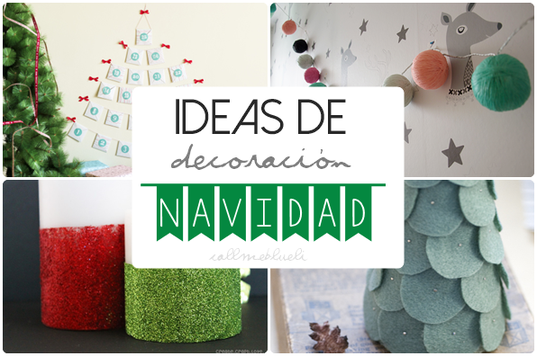 Call me blueli ideas de decoraci n navide a diy - Decoracion navidena diy ...