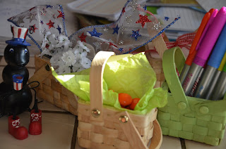 Beau-coup mini woven picnic baskets 2