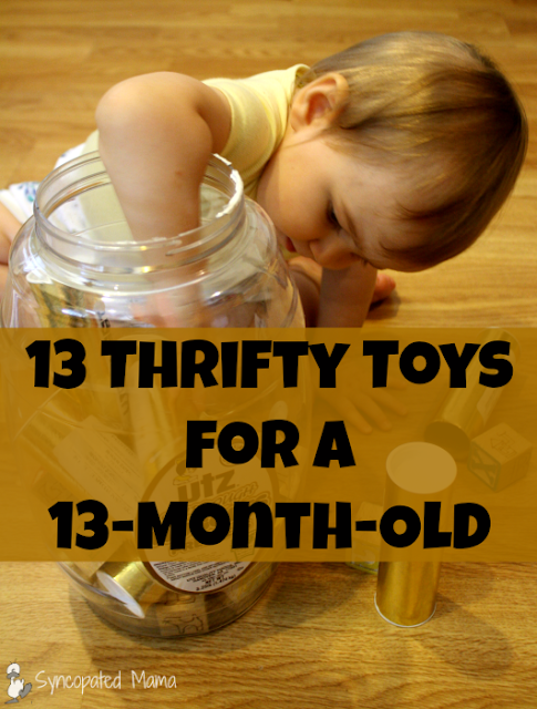 Toys For 13 Month Olds : Syncopated mama thrifty toys for a month old