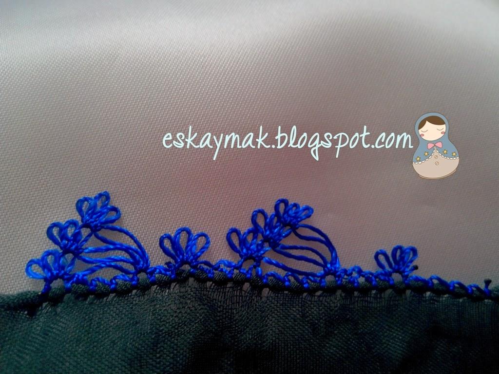 elişi, diy, do it yourself, handmade, iğne, iğne oyası, iğne oyası yapılışı, videolu iğne oyası, eskaymak, mavi, blue, açıklamalı, embroidery, craft,