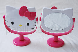 Cermin Meja Hello Kitty