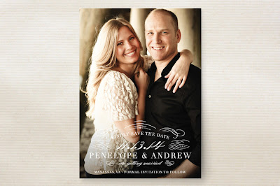 save the date, photo card, elegant, flourishes