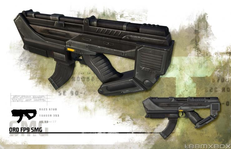 Future War Stories: FWS Armory: The Submachine Gun