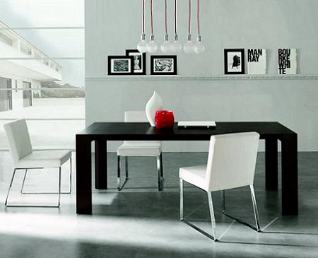 Decoraci n minimalista y contempor nea decoraci n en for Decoracion de comedores minimalistas