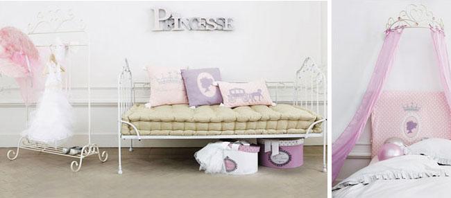 Maisons du monde collezione junior home shabby home - Camere da principesse ...