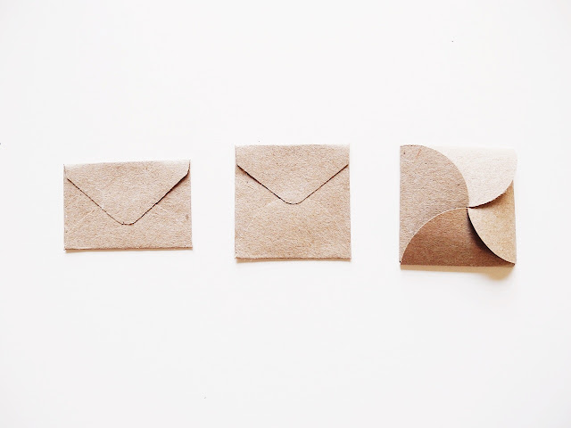 how to make easy mini envelopes out of paper