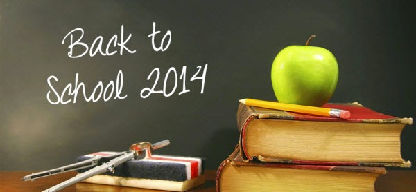 2014 Back to School Money-saving