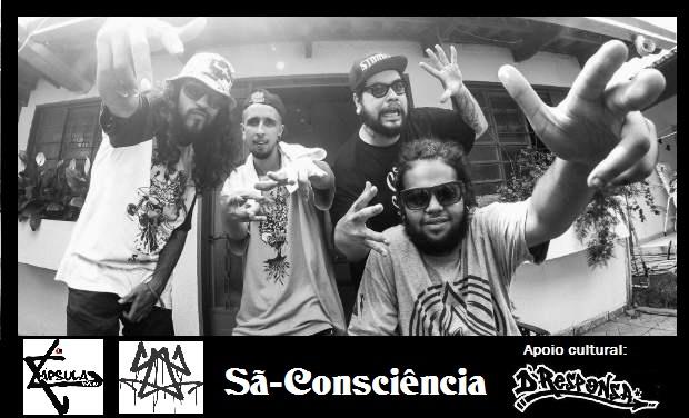 Saiu o Novo videoclipe do Grupo de Rap Sã-Consciência.