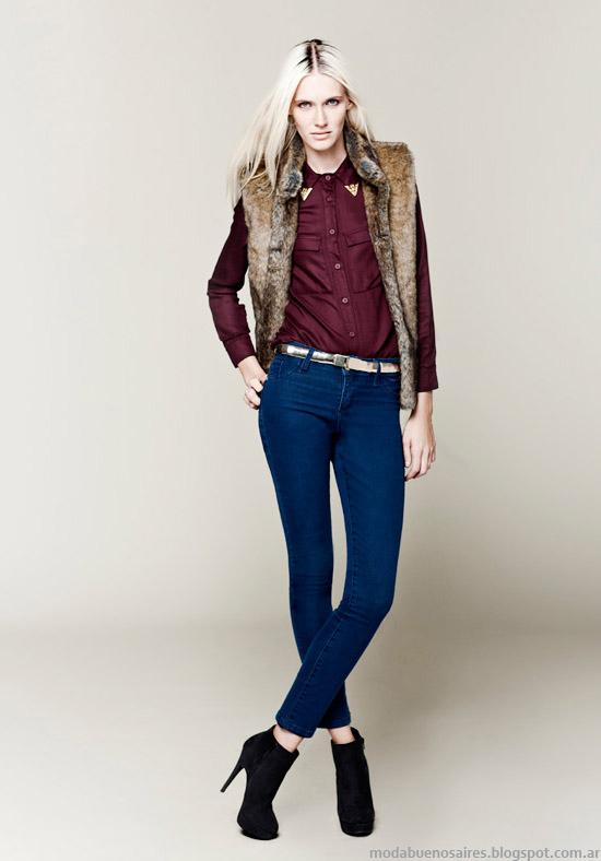 Chalecos invierno 2013 Basement moda Falabella