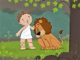 El León y el Pastor fábula para niños, fábula con moraleja de Esopo