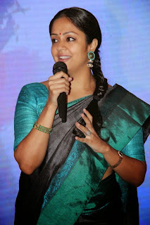 Actress Jyothika Latest Pictures in Green Saree at 36 Vayathinile Audio Launch  11